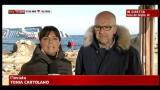 30/01/2012 - Concordia, il relitto si è spostato di 4 cm in poche ore