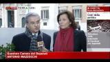 Costi politica, intervista ad Antonio Mazzocchi