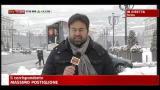 01/02/2012 - Vento freddo e neve su Torino, Milano, e Genova