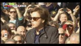 10/02/2012 - La stella Paul Mc Cartney splende sulla walk of fame