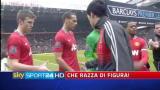 11/02/2012 - Manchester-Liverpool, Suarez non dà la mano a Evra