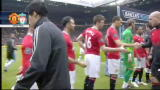 Manchester - Liverpool, Suarez non stringe la mano a Evra