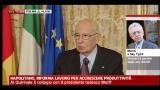 13/02/2012 - Napolitano, riforma lavoro per accrescere produttività