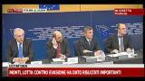 Monti: Italia deve tenere timone verso pareggio bilancio