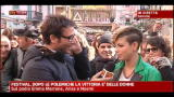 19/02/2012 - Sanremo, a Sky TG24 intervista ad Emma