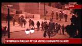 Atene, tafferugli in piazza in attesa vertice su aiuti