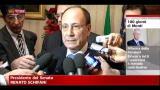 24/02/2012 - IMU Chiesa, il commento di Renato Schifani