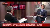 Tav, Moretti a Sky TG24 - 2° parte