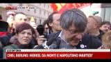 Protesta Fiom, in piazza anche il leader Landini