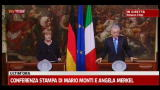 Crisi, Monti: con Germania dialogo aperto
