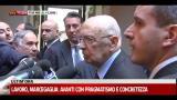 Napolitano: clima molto favorevole tra Italia e Germania