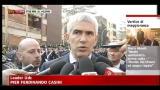 Casini: c'è stato un grande sforzo di volontà comune
