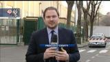 Fiorentina-Juventus, tifosi al Franchi con parrucchini viola
