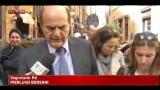 Lavoro, Bersani: spero che il governo trovi punto di sintesi