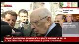 Lavoro, Napolitano: riforma non si riduce a modifiche art.18