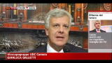 23/03/2012 - Art.18, Galletti: la discussione è solo marginale