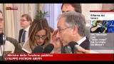 23/03/2012 - Patroni Griffi: affronteremo tema flessibilità in uscita