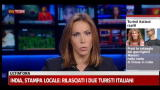 India, stampa locale: rilasciati i due turisti italiani
