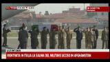 Michele Silvestri, l'arrivo del feretro a Ciampino