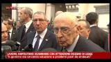 Crisi, Napolitano: non vedo esasperazione cieca