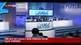 30/03/2012 - Lavoro, Fornero: riforma vuole dare chance a giovani