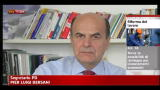 Lavoro, Bersani: passo avanti importantissimo