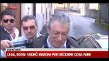 """Lega, Bossi: """"Roma farabutta, ci ha dato questi magistrati"""""""