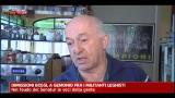 Dimissioni Bossi, a Gemonio tra i militanti leghisti