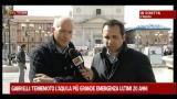 Gabrielli: L'Aquila, la più grande emergenza ultimi 20 anni