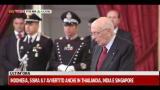 Crisi debito, Napolitano commenta l'andamento dei mercati