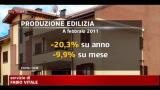 Crisi, a picco la produzione edilizia nel mese di gennaio