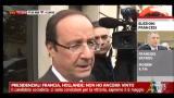 Presidenziali Francia, Hollande: non ho ancora vinto