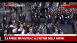 25 aprile, Napolitano all'altare della Patria: inno Mameli