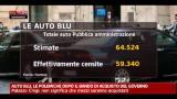 Auto blu, Flamment: parco auto deve essere più efficiente