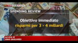Spending review, nell'immediato circa 3 miliardi risparmio