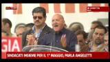 01/05/2012 - Sindacati insieme per il 1 maggio, parla Angeletti