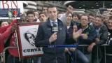 Un derby per tre: San Siro, tifosi in attesa