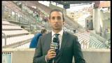 Cagliari-Juve, lo stadio di Trieste si prepara