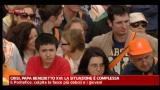 13/05/2012 - Crisi, Papa Benedetto XVi, la situazione è complessa