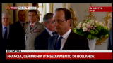 Francia, insediamento Hollande: il giuramento