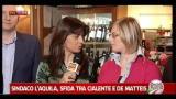 Faccia a faccia tra i candidati sindaco a L'Aquila