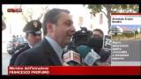19/05/2012 - Brindisi, Profumo: giornata terribile per il Paese