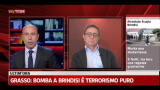 Attentato Brindisi, Saverio Lodato in diretta con SkyTG24