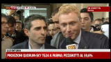 21/05/2012 - Ballottaggio Parma, Federico Pizzarotti e il nuovo sindaco