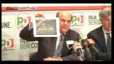 Ballottaggi, Bersani: non sarà consentito rubarci vittoria