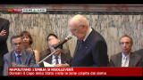 06/06/2012 - Napolitano: l'Emilia si risollevera