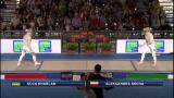 Europei di scherma: semifinale sciabola femm. - 2^parte