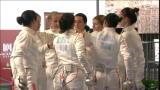 Europei di scherma: finale spada femminile a squadre