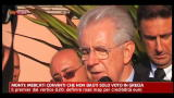 Monti: mercati convinti che non basti solo voto in Grecia