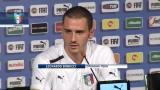 """21/06/2012 - Euro 2012, Bonucci: """"Balotelli? Un bravo ragazzo"""""""